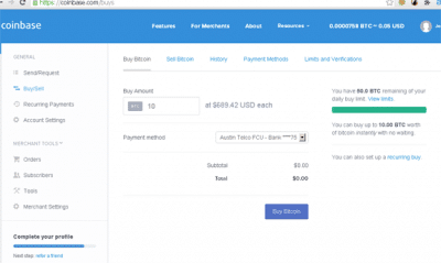 coinbase online bitcoin wallet review buy sell bitcoin