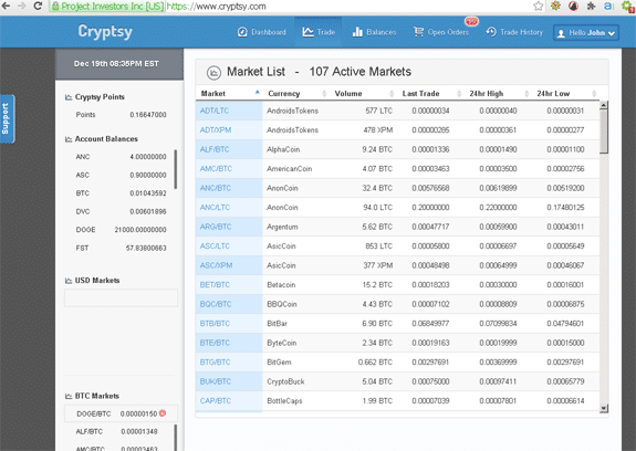 cryptsy exchange review