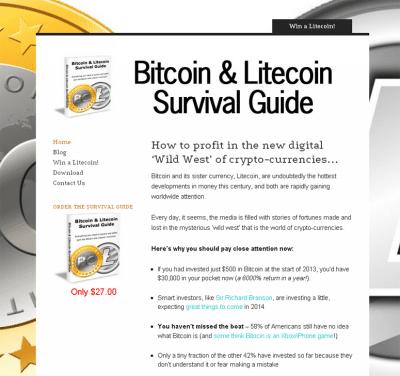 bitcoin survival guide
