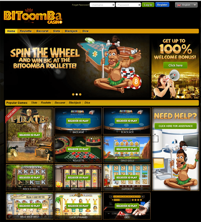 bitoomba bitcoin gambling website review