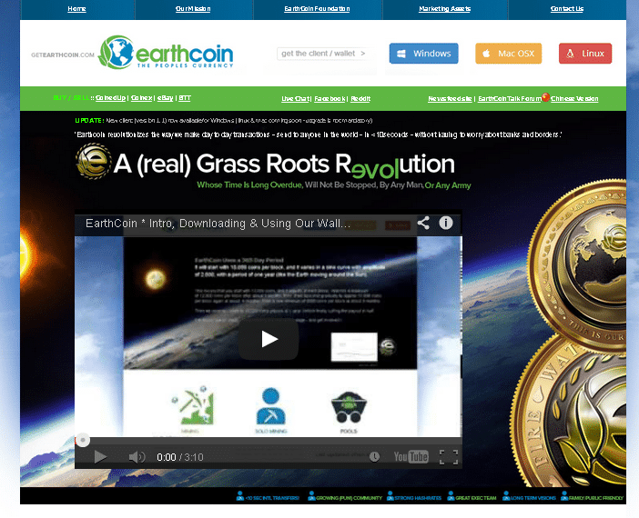 earthcoin altcoin review