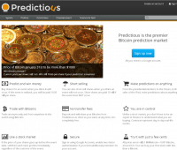 predictious prediction gambling website review