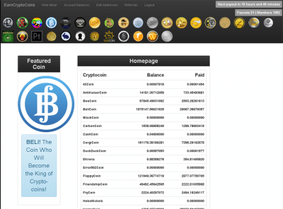 earn crypto coins review
