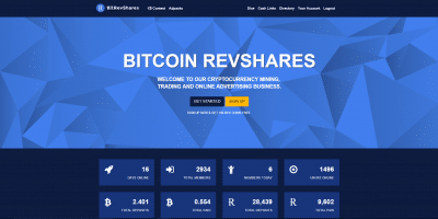 bitcoin revshares bitrevshares