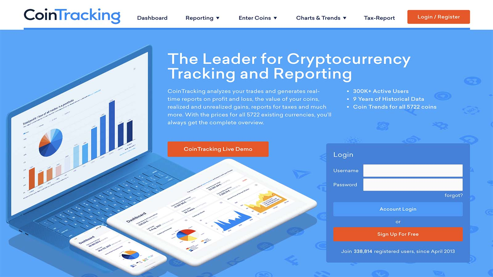 tracking cryptocurrency trades
